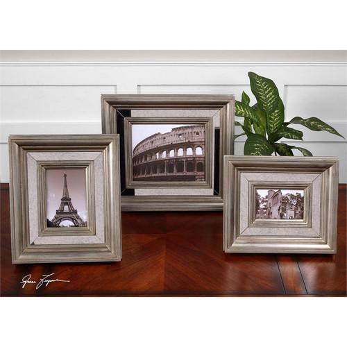 Hasana Photo Frames - Set of 3 by Uttermost