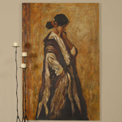 Serenity Hand Painted Canvas by Uttermost