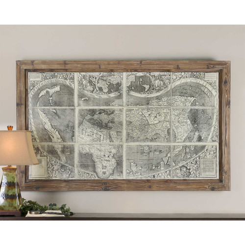 Treasure Map Oil Reproduction OR by Uttermost