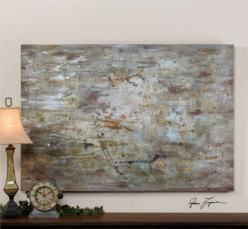 Middle Hand Painted Canvas - by Uttermost