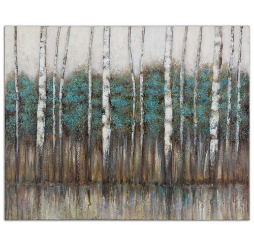 Edge Of The  Forest Hand Painted Canvas by Uttermost