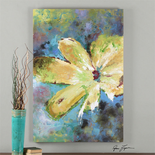 Blossom in Yellow a Paintings by Uttermost