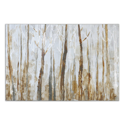 Mystic Forest Hand Painted Canvas by Uttermost