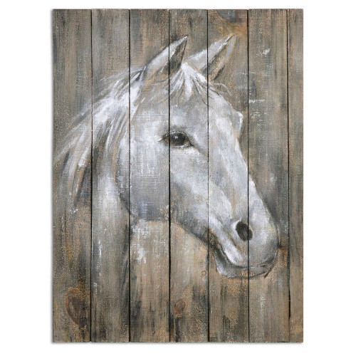 Dreamhorse Hand Painted Canvas by Uttermost