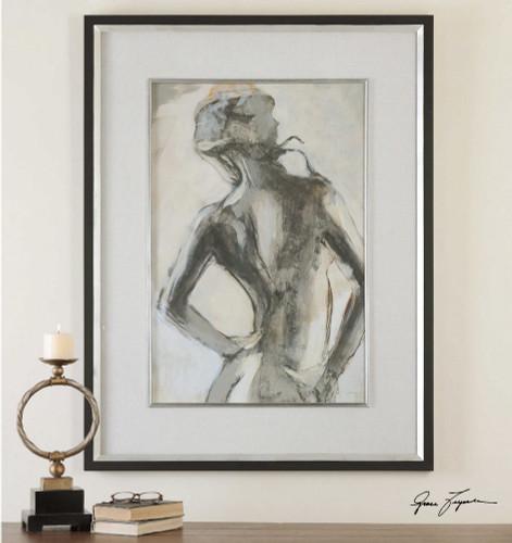 Gesture Framed Print