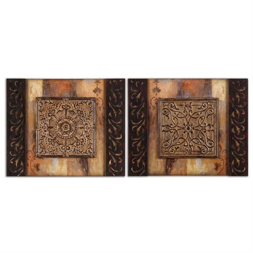 Ornamentational Block Set of 2