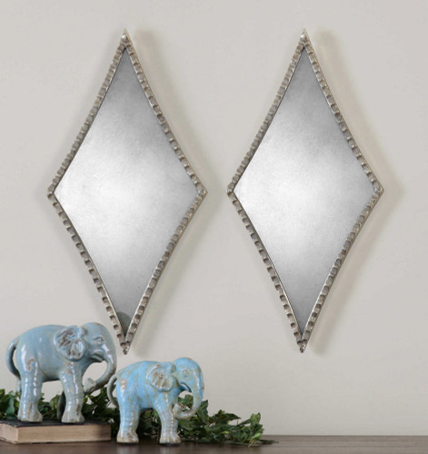 Gelston Mirrors S/2 by Uttermost