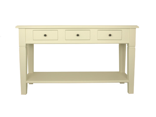 Florence Console Table (Antique White)