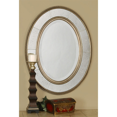 Lara Oval Mirror by Uttermost