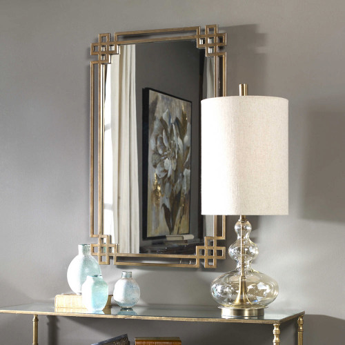 Devoll Vanity Mirror by Uttermost