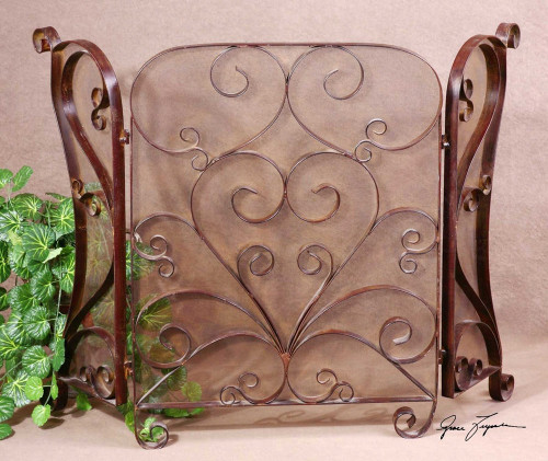 Daymeion Fireplace Screen by Uttermost
