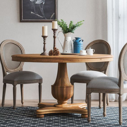 Virginia Round Dining Table - Size: 79H x 137W x 137D (cm)