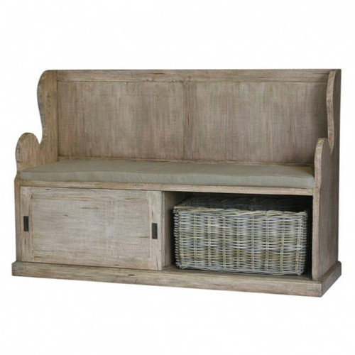 Lincoln Entry Bench large - Size: 100H x 155W x 48D (cm)