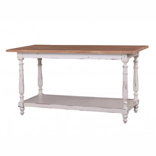 New England Prep Table - Size: 84H x 160W x 79D (cm)