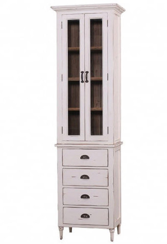 Jefferson Tall Bath Cabinet - Size: 213H x 61W x 41D (cm)