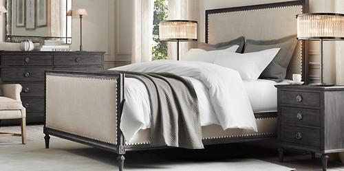Bordeaux Queen Bed Suite Package (Black Oak)