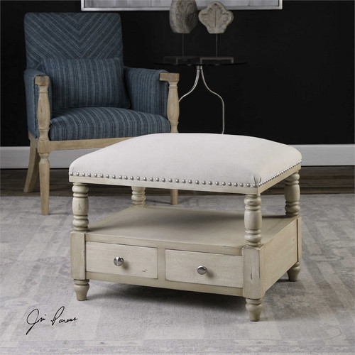 Bailor Bench by Uttermost
