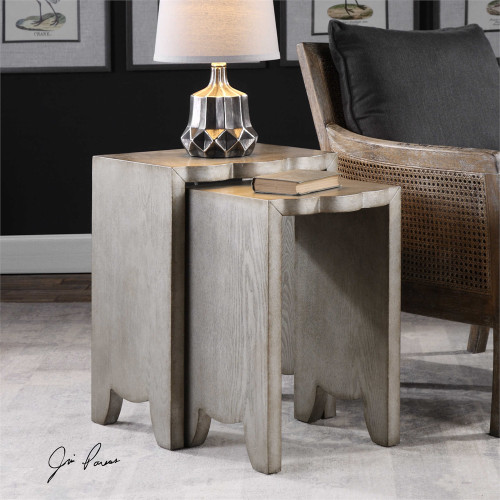 Imala Nesting Tables S/2 - by Uttermost