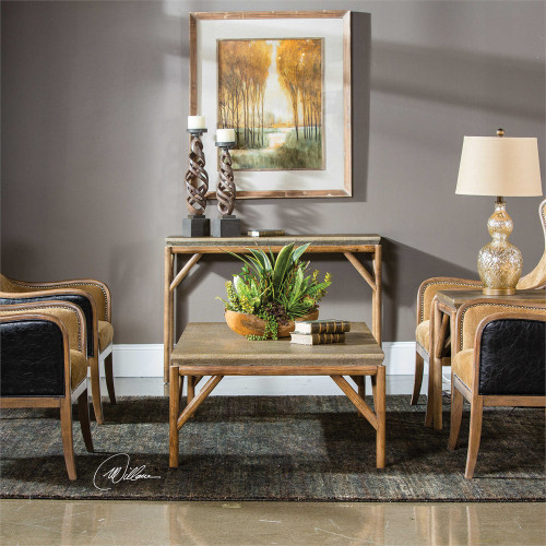 Kanti End Table - by Uttermost