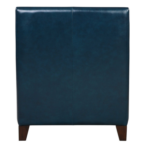 Kelso Leather Accent Chair