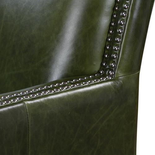 Figo Leather Accent Chair