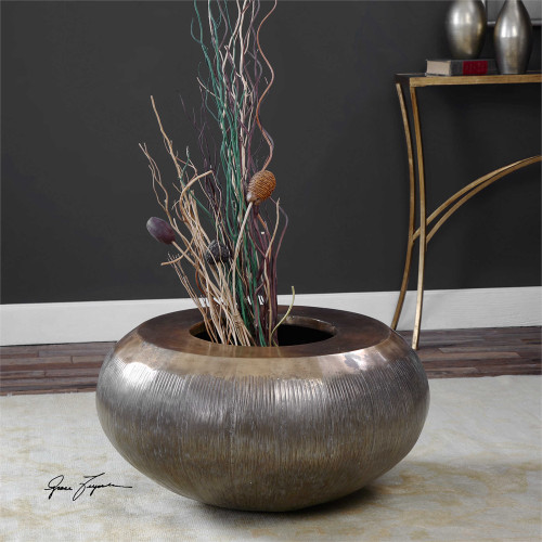 Severino Large Planter - by Uttermost