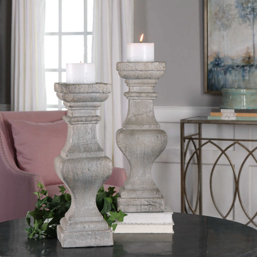 Corin Candleholders S/2 by Uttermost