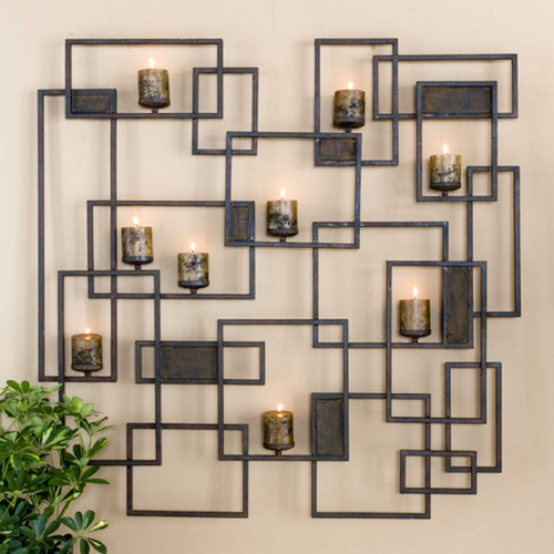 Siam Candlelight Wall Sculpture by Uttermost