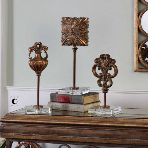 Cesare Sculptures S/3 by Uttermost