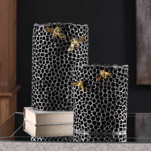 Hive Vases S/2 by Uttermost