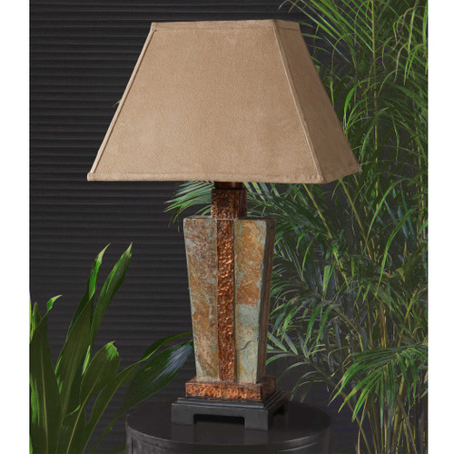 Slate Accent Lamp by Uttermost