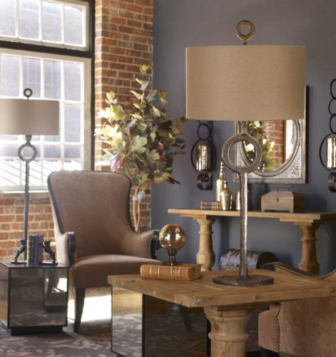 Ferro Table Lamp by Uttermost