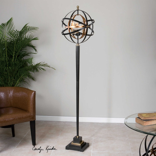 Rondure Floor Lamp by Uttermost