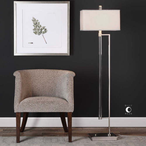 Mannan Floor Lamp by Uttermost
