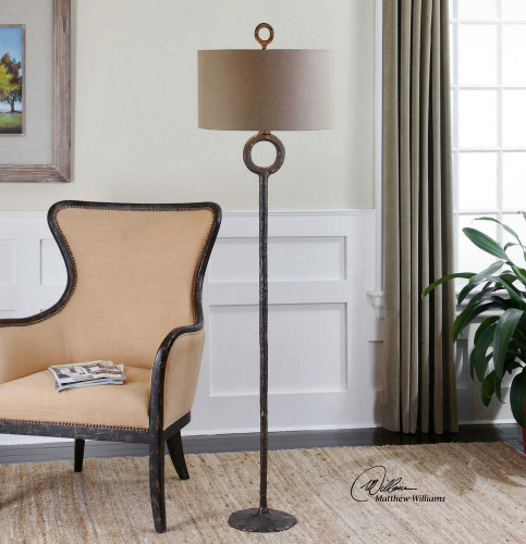 Ferro Floor Lamp by Uttermost
