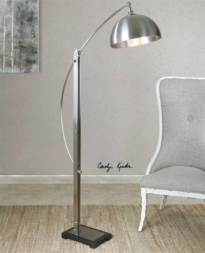 Malcolm Floor Lamp by Uttermost