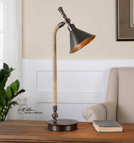 Duvall Task Lamp by Uttermost