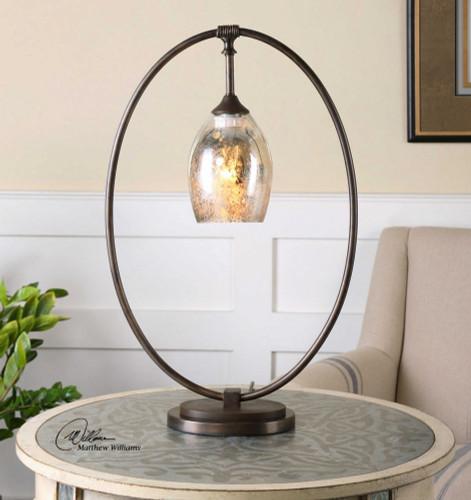 Lemeta Accent Lamp by Uttermost
