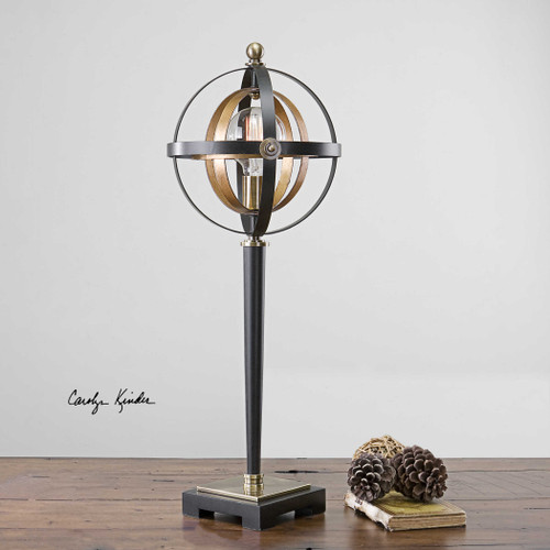 Rondure Accent Lamp by Uttermost