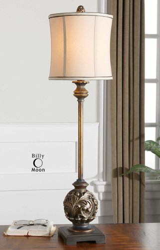 Shahla Bronze Buffet Lamp by Uttermost