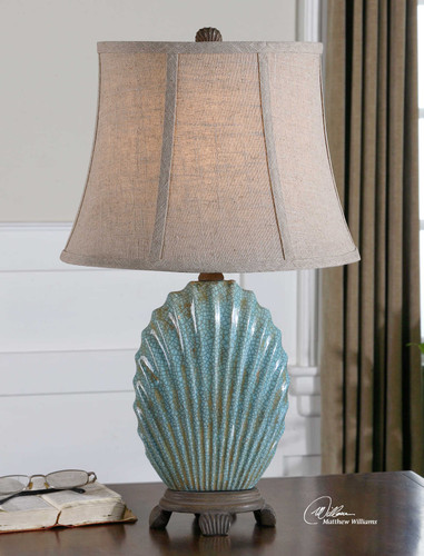 Seashell Accent Lamp by Uttermost