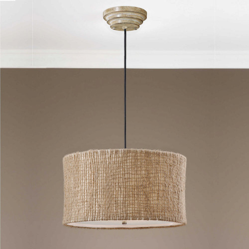 Burleson 3 Lt Pendant by Uttermost