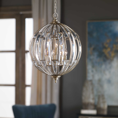 Vicentina 6 Lt Pendant by Uttermost
