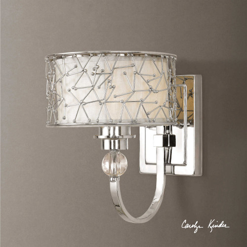 Brandon 1 Lt Wall Sconce by Uttermost