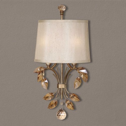 Alenya 2 Lt Wall Sconce by Uttermost