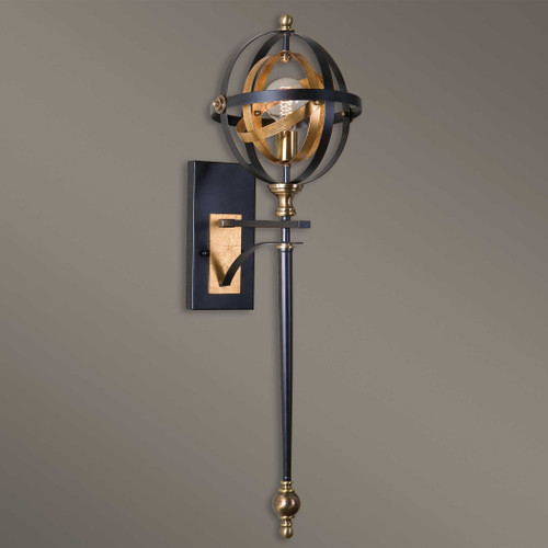 Rondure 1 Lt. Sconce by Uttermost