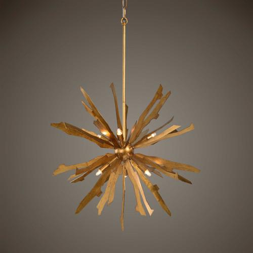 Starburst 6Lt. pendant by Uttermost