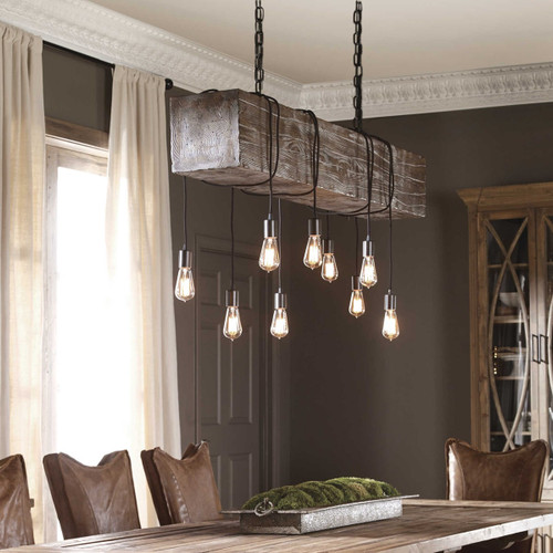 Reading Station 9 Lt.  Pendant by Uttermost