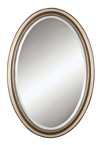 Petite Manhattan Oval Mirror by Uttermost