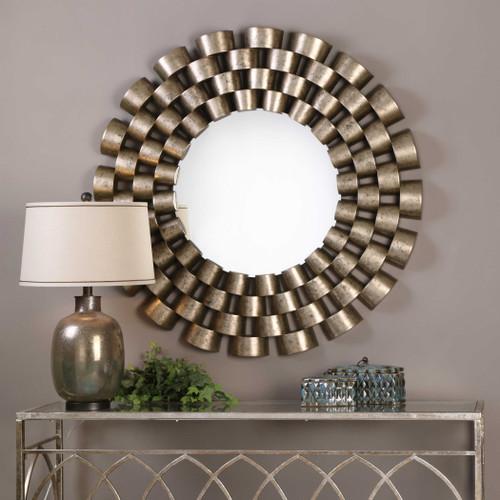 Taurion Round Mirror by Uttermost